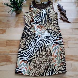 Nygard Collection - Animal print dress